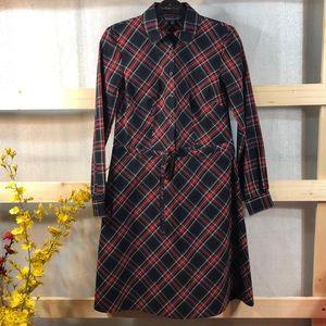 NWT Brooks Bros. Longsleeve Dress Size: 0P